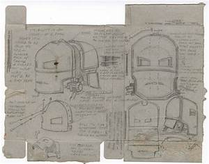 Hero Schematics Of The Mark I Helmet And Suit Designs From