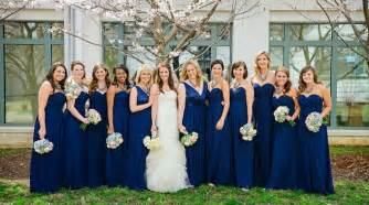 navy bridesmaid gorgeous navy blue bridesmaid dresses to inspire you cherry
