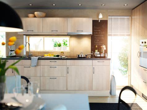 minimalist ikea kitchen cabinet selection  lighter tone