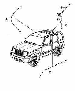 2012 Jeep Liberty Antenna  Used For  Base Cable And