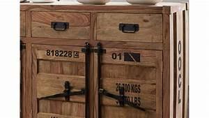 Sheesham Möbel Günstig : kommode container von wolf m bel in sheesham massiv 140 cm ~ Indierocktalk.com Haus und Dekorationen