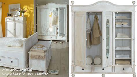 Garderobenschrank Weiß Ikea by Landhausm 246 Bel Romantischer Kleiderschrank In Wei 223 Aus