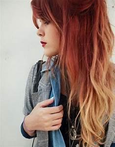 Ombré Hair Rouge : ombr hair rouge ombr hair les plus beaux d grad s de ~ Melissatoandfro.com Idées de Décoration