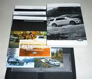 2018 Ford Expedition Owners Manual Set 18 Guide W  Case Xlt