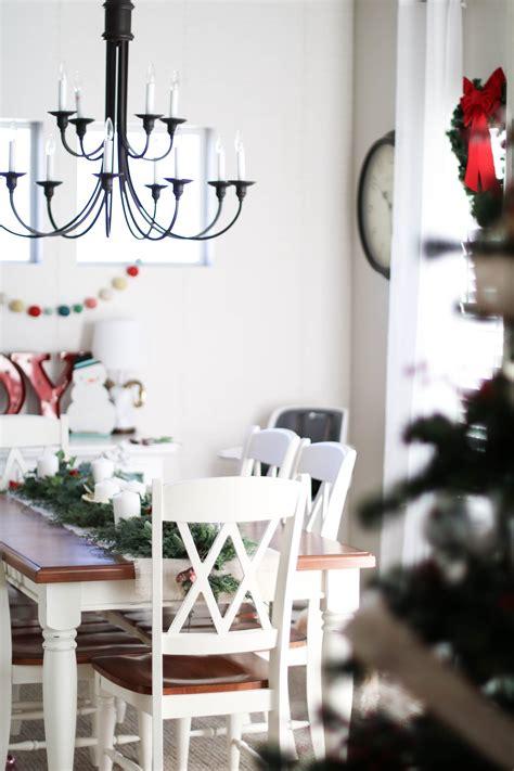 farmhouse modern home christmas house  positively oakes