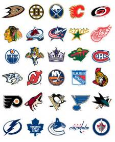 All NHL Hockey Team Logos and Names