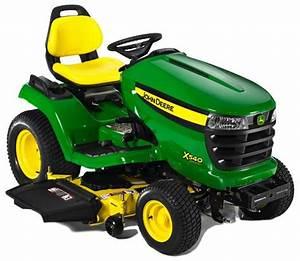 John Deere X500  X520  X530  X534  X540 Select Series
