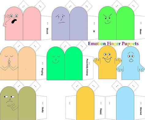 Paper Finger Puppets Templates by Paper Finger Puppet Patterns Car Interior Design