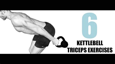 kettlebell triceps exercises target muscle they