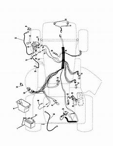 Electrical Diagram  U0026 Parts List For Model Po15538lt Poulan