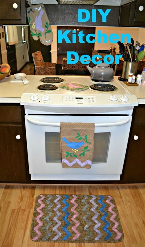 diy kitchen decor  tulip   home products