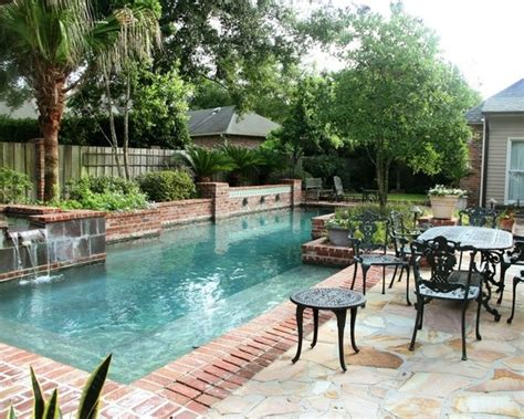 new orleans courtyard pool for the home