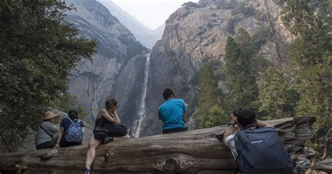 Yosemite National Park Mostly Closed From Fire Will