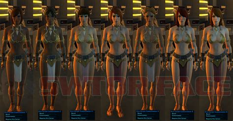 Kira Carsen Customisation Swtor