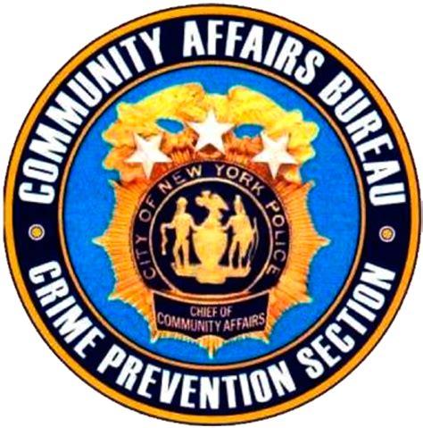 crime bureau nypd welcome to the community affairs bureau