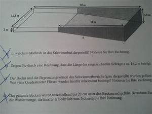 Volumen Quader Berechnen : volumenberechnung erforderliche wassermenge f r schwimmbad berechnen realschule stufe 10 ~ Themetempest.com Abrechnung