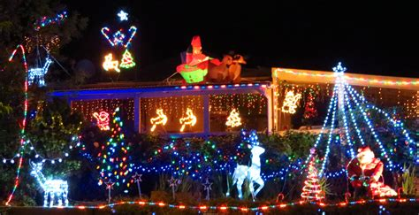 merry christmas in lights from rotorua thecuriouskiwi nz