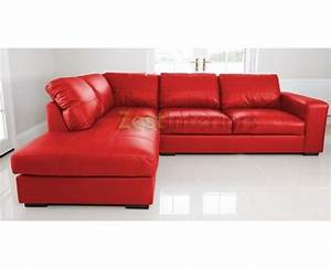 venice left hand large corner sofa red faux leather with With red faux leather sectional sofa