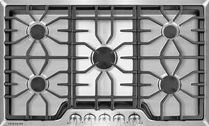 Frigidaire Fggc3645qs 36 Inch Gas Cooktop With 5 Sealed Burners  Continuous Cast Iron Grates