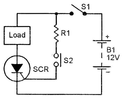 scr voltage regulator wiring diagram scr principles and circuits nuts volts magazine