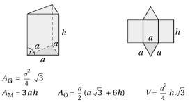 prisma grundfläche körper mit ebenen begrenzungsflächen wertetabellen