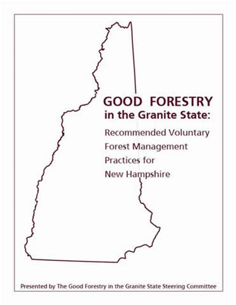 forestry in the granite state recommended voluntary