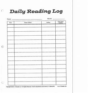 sample reading logs 4th grade 1000 images about reading With 4th grade reading log template