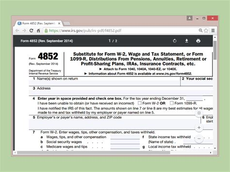 get old tax forms 3 ways to get a copy of your w 2 from the irs wikihow