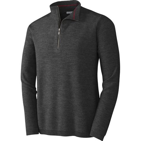 smartwool howelsen  zip sweater mens peter glenn