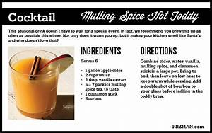 Mulling Spice Hot Toddy Perfect For The Holidays