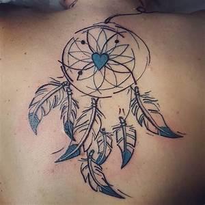 Tatouage Capteur De Rêve : tatouage capteur de r ves dos douceaddixion ~ Melissatoandfro.com Idées de Décoration