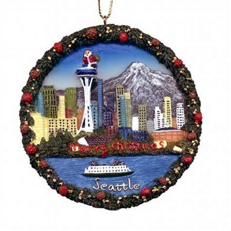 michael s company seattle souvenir christmas ornament