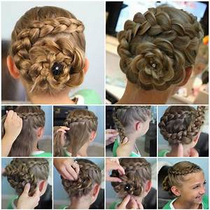 Amazing Flower Hairstyles Step by Step Instructions Rank Nepal