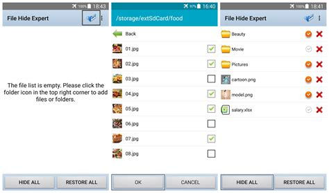 on android how to hide files and folders on android tinoshare