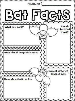 bats nonfiction research writing bats mini unit