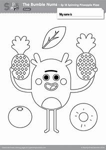 Car Wash Coloring Pages The Bumble Nums Color Episode 18 Spinning Pineapple