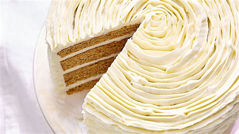 carrot cake  white chocolate frosting