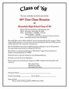class reunion invitations templates With class reunion program template