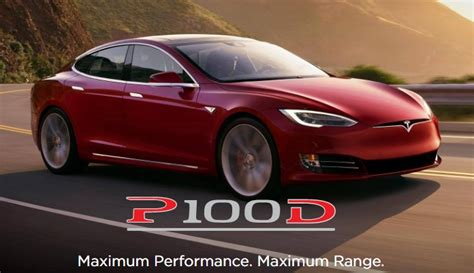 New Tesla Model S P100d Does 0100 Kmph In 25 Seconds