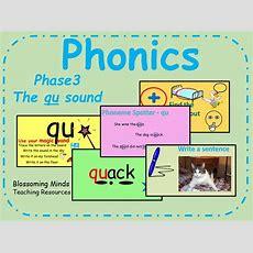 Phonics Phase 3 Qu