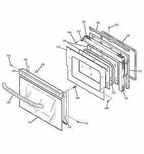 Ge Jtp27bd1bb Electric Wall Oven Parts