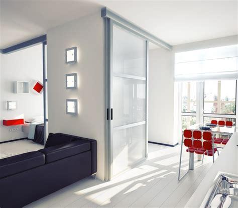porte coulissante interieur cloison porte coulissante 233 l 233 gance et gain de place int 233 rieur moderne portes et verre
