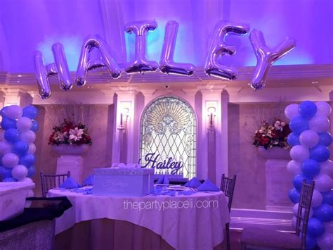 tiffany themed sweet  sweet  party decorations