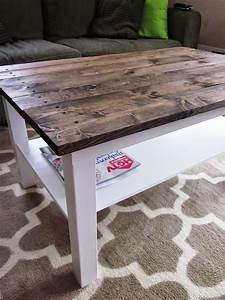 it39s a long story coffee table makeover wood plank table With plank top coffee table