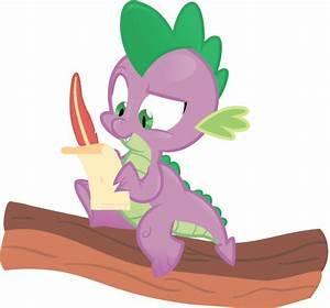 spike writing a letter by jrrhack on deviantart With letter spike