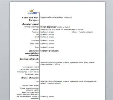 Modele Cv Professionnel 2015 by Curriculum Vitae Model Cv Professionnel 2015 Forestier