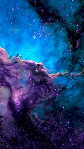 galaxy background iPhone wallpaper   Quotes   Pinterest