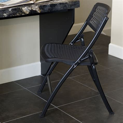 Mity Lite Folding Chairs by Mity Lite Flex One Folding Office Comfortable Chair