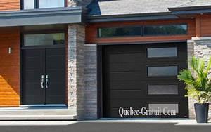 porte de garage et une porte d39entree garaga With porte de garage et porte seule postformée