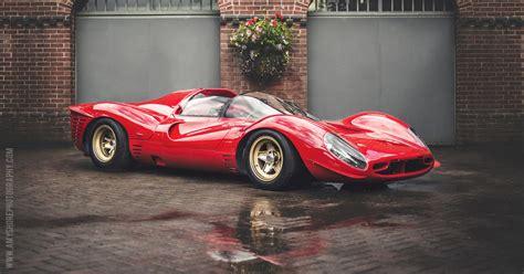 Desktop Wallpaper Of The 1967 Ferrari 330 P4 Race Car